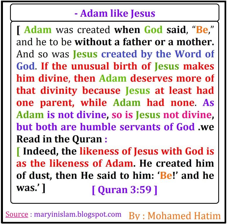 - Adam like Jesus1